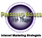Pressing Issues Web Design